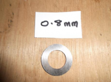 Clutch shim .8 mm Thickness